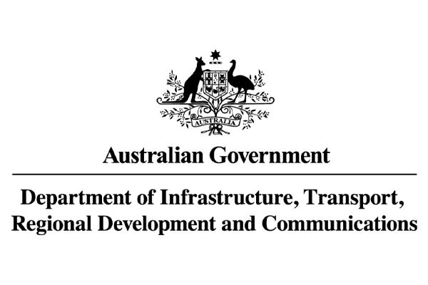 Department of Infrastructure Transport Regional logo
