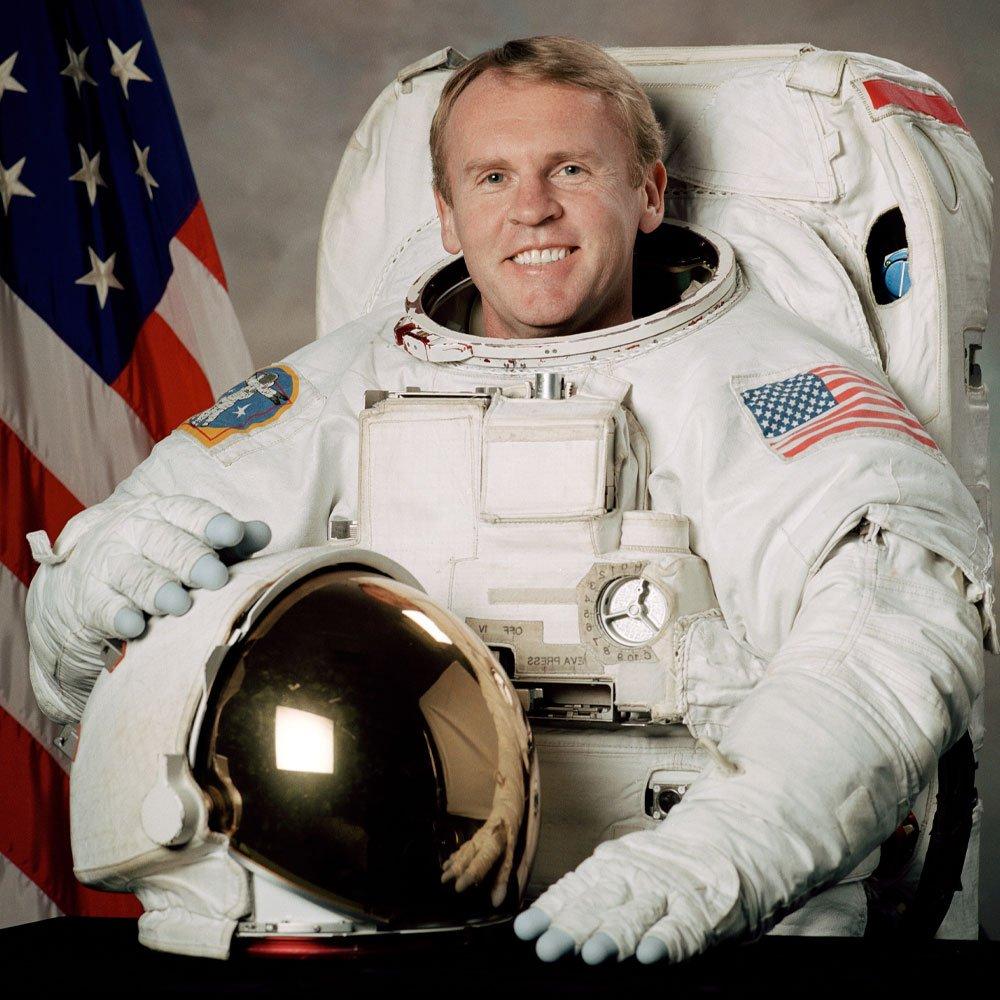 Astronaut Andy Thomas