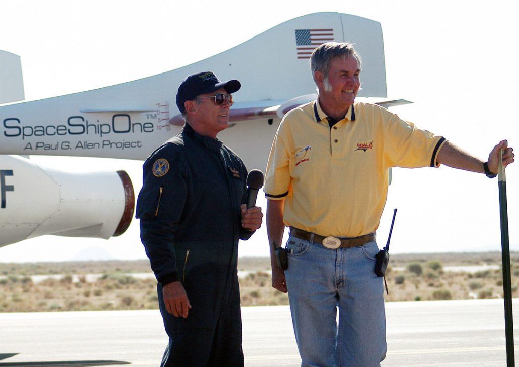 Mike Melvill and Burt Rutan